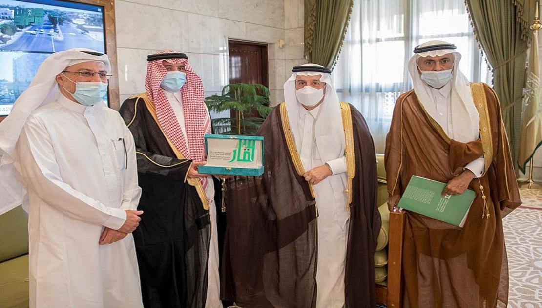 """سمو أمير الرياض يستقبل رئيس الجمعية السعودية لمساندة كبار السن """" وقار """""""